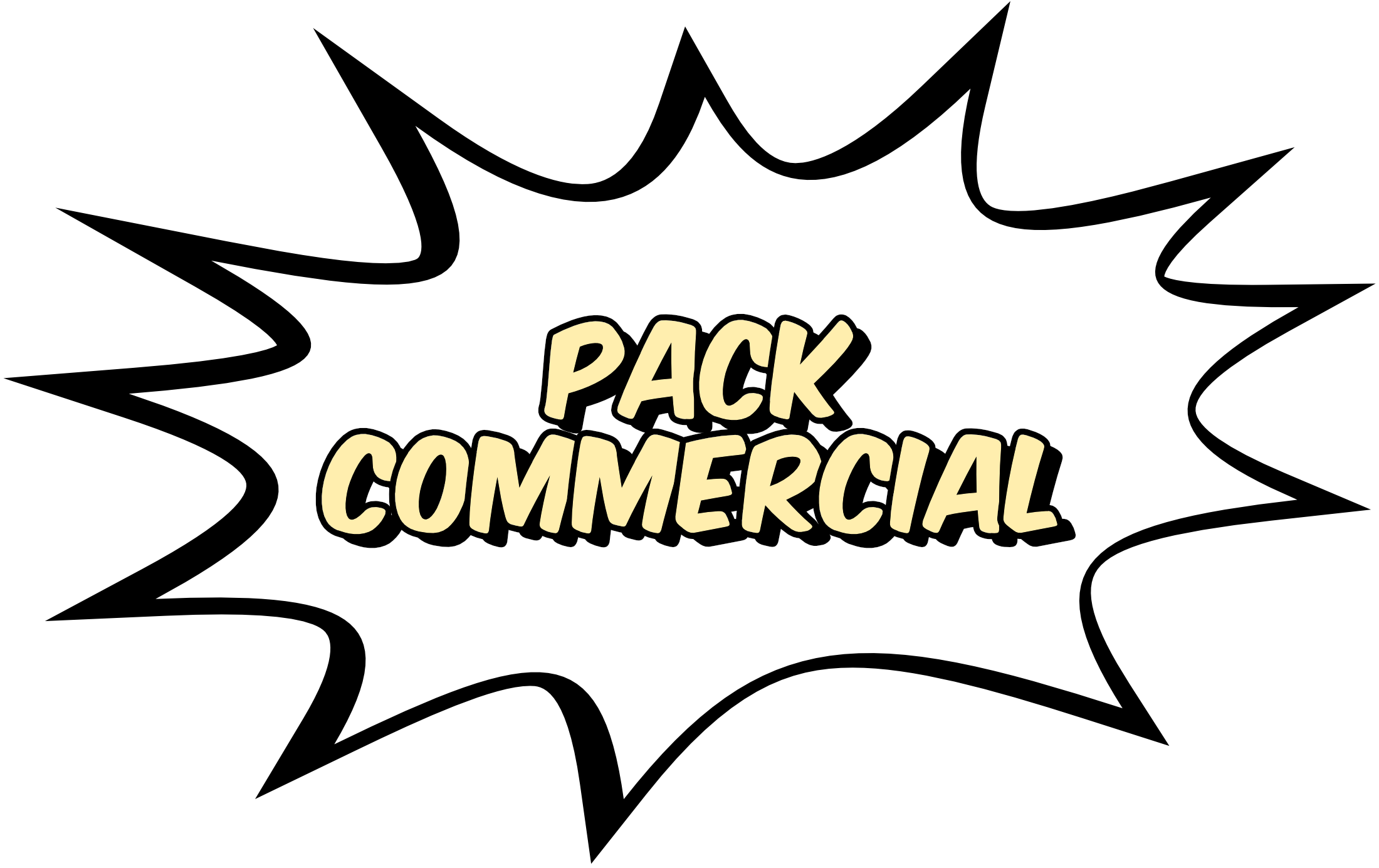 pack commercial